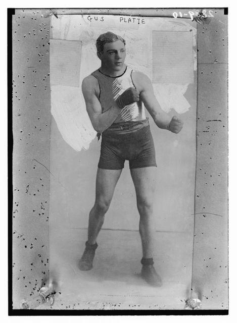 Gus Platte - boxing