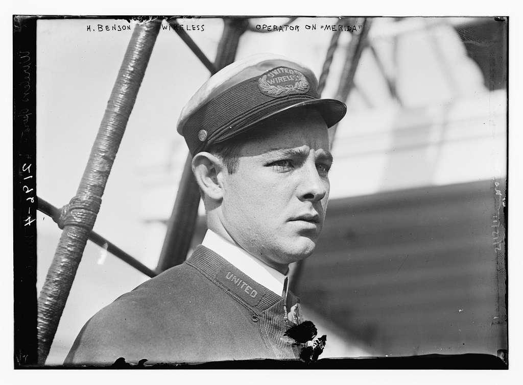 H. Benson - Wireless operator on Merida