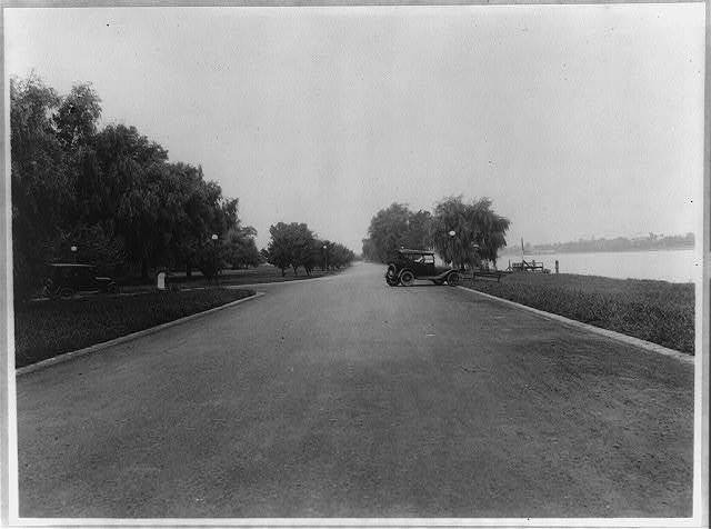 [Hains Point and Potomac River at East Potomac Park, Washington, D.C.]