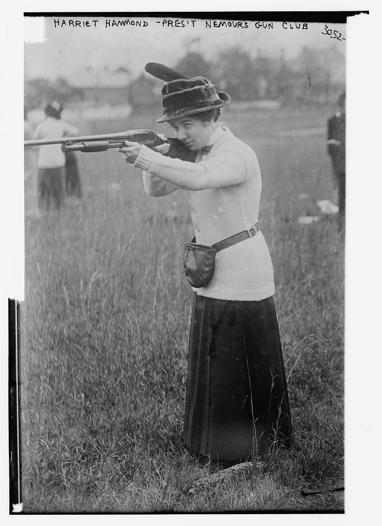 Harriet Hammond - Pres. Nemours Gun Club