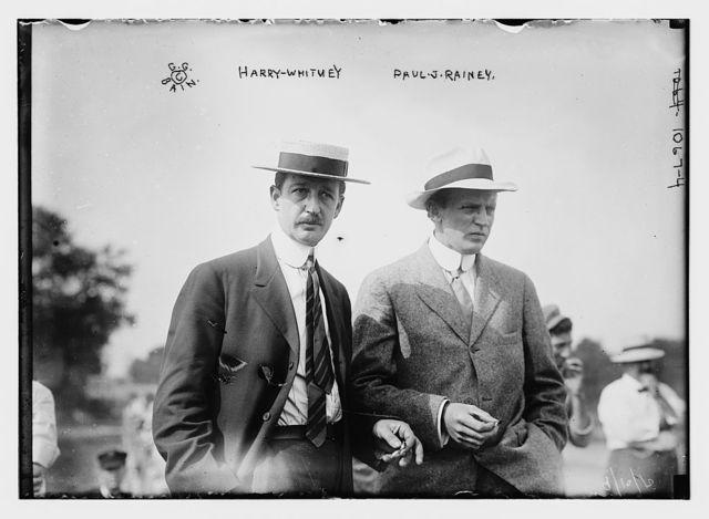 Harry Whitney, Paul J. Rainey