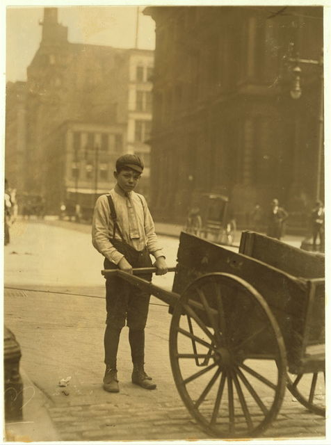 Harvey Nailling, delivery boy for Kutterer Printing Co. 300 Olive St. Works 9 1/2 hours a day.  Location: St. Louis, Missouri.