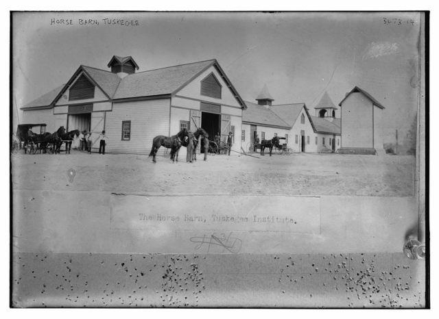 Horse Barn, Tuskegee