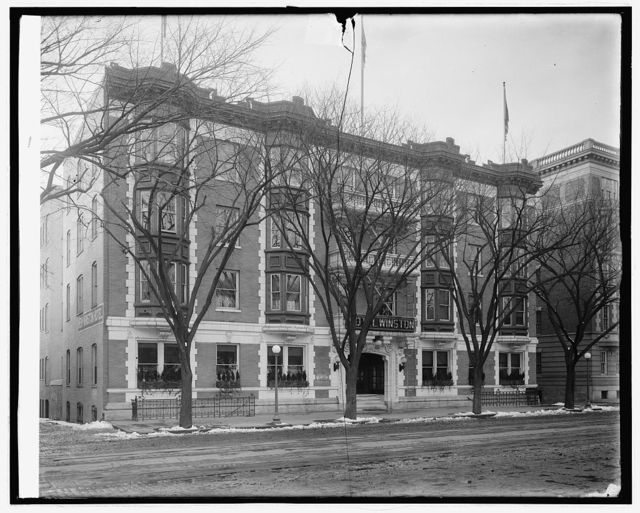 Hotel Winston, 1 & Pa. Ave., N.W., [Washington, D.C.]