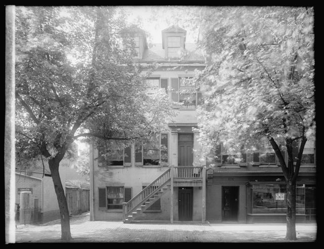 [House at 604 H Street, N.W., Washington, D.C., where the plot to assassinate Lincoln was hatched]