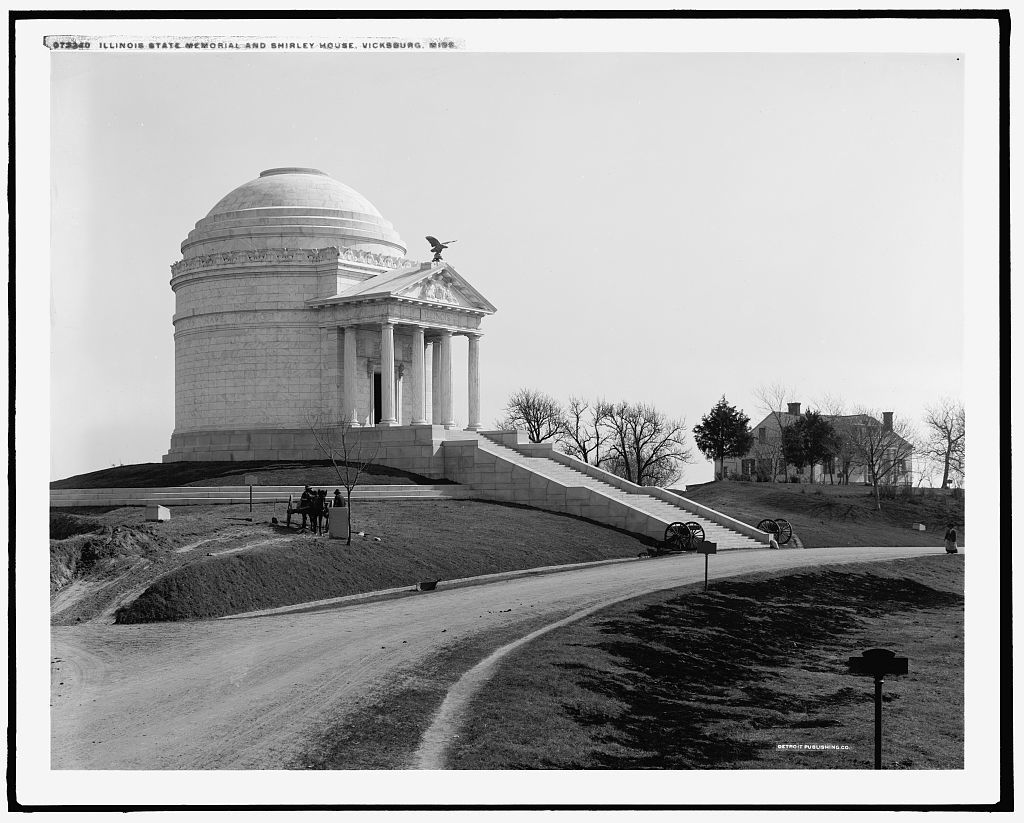 Illinois State Memorial and Shirley House, Vicksburg, Miss.