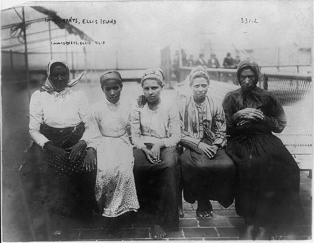 Immigrants, Ellis Island
