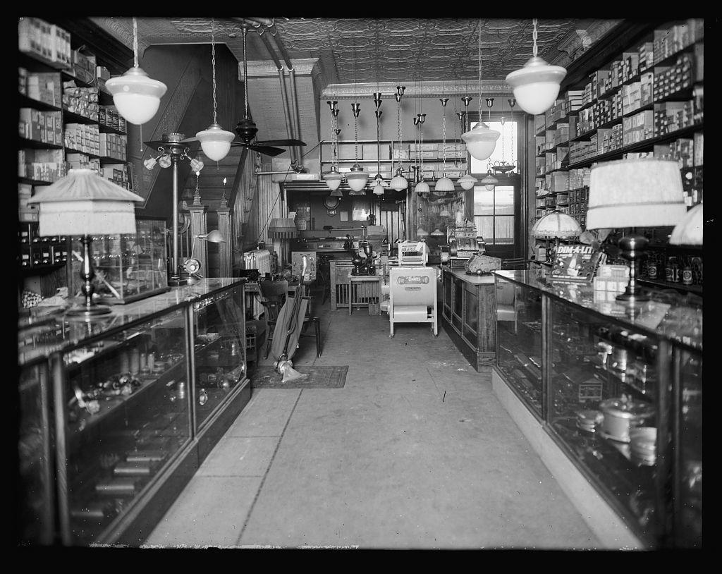 [Interior of shop]