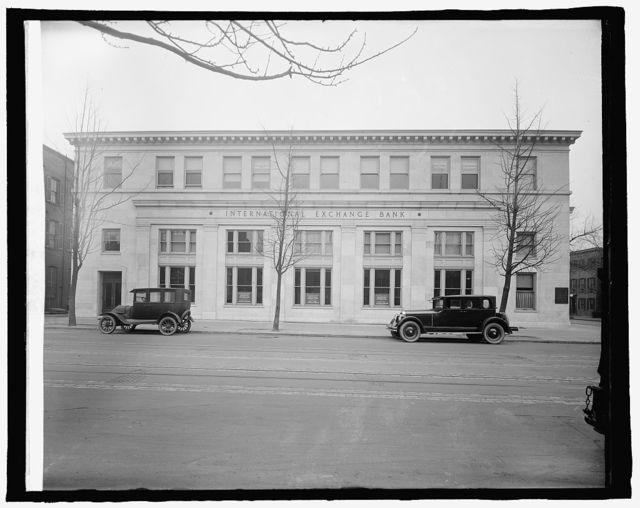 International Exchange Bank, [Washington, D.C.]