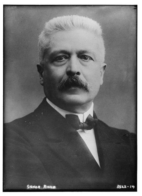 [Italian Premier, Vittorio Orlando]