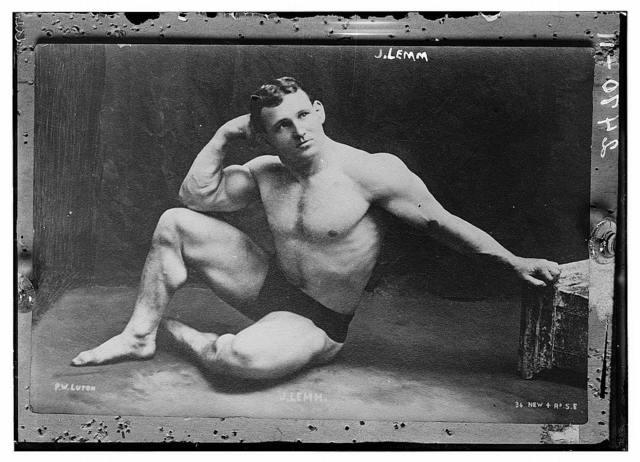 [J. Lemm, heavy weight wrestler]