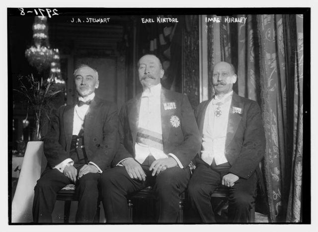 J.A. Stewart, Early Kintore, Imre Kiralfy