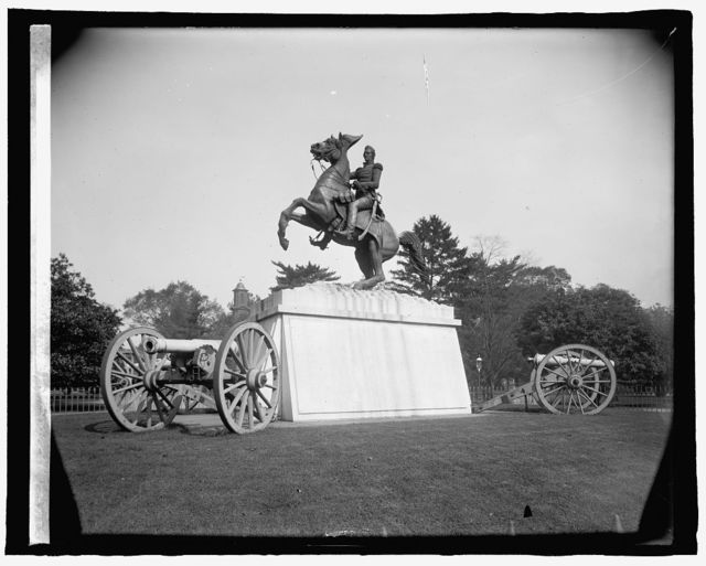 Jackson statue, [Washington, D.C.]