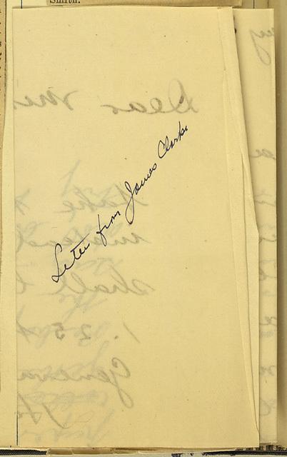 James Clarke to Anne Fitzhugh Miller