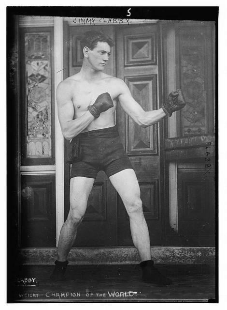 Jimmy Clabby. Boxing