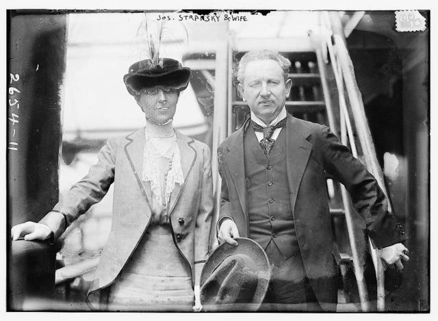 Jos. Stransky & wife