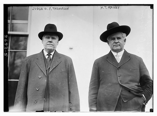 Judge O.P. Thompson [and] H.T. Rainey