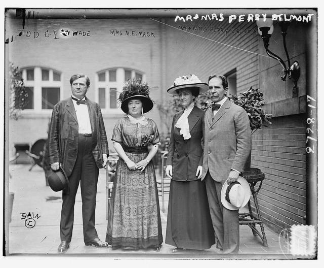 Judge Wade, Mrs. Mack, Mr. & Mrs. Perry Belmont
