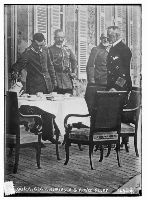 Kaiser, Gen. v. Heeringen & Prince Henry