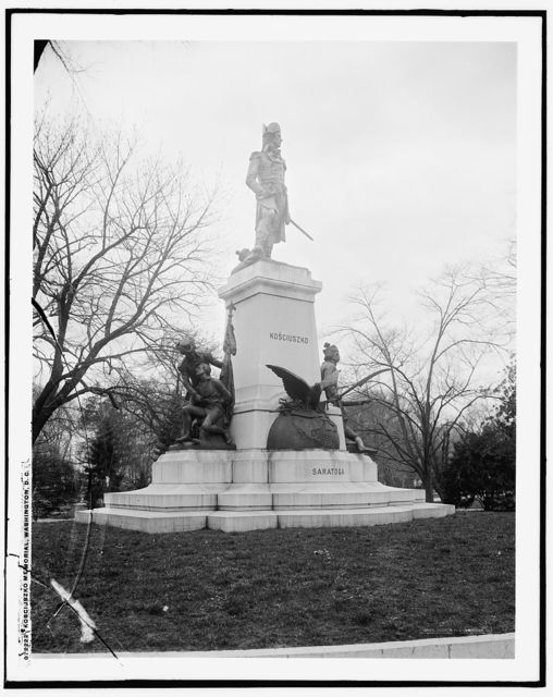 Kosciuszko memorial, Washington, D.C.