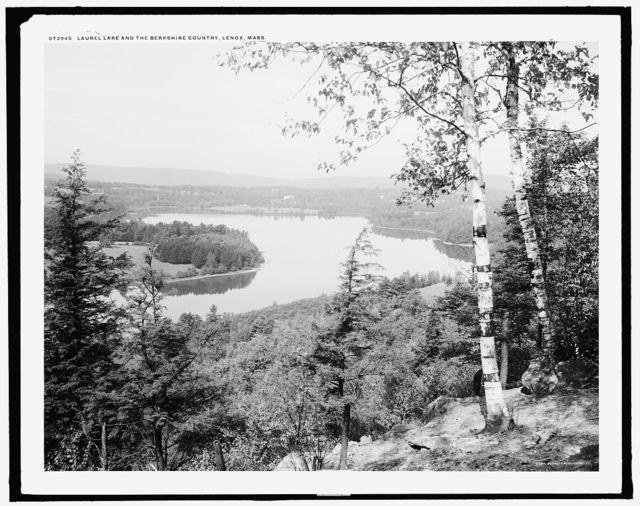 Laurel Lake and the Berkshire country, Lenox, Mass.