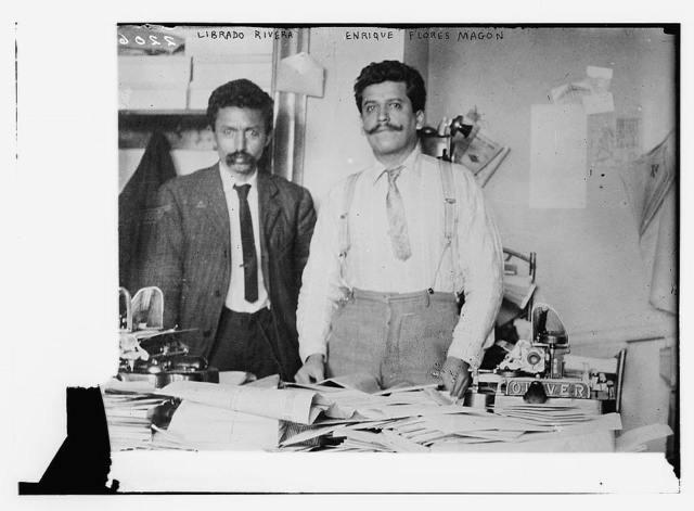 Librado Rivera, Enrique Flores Magon