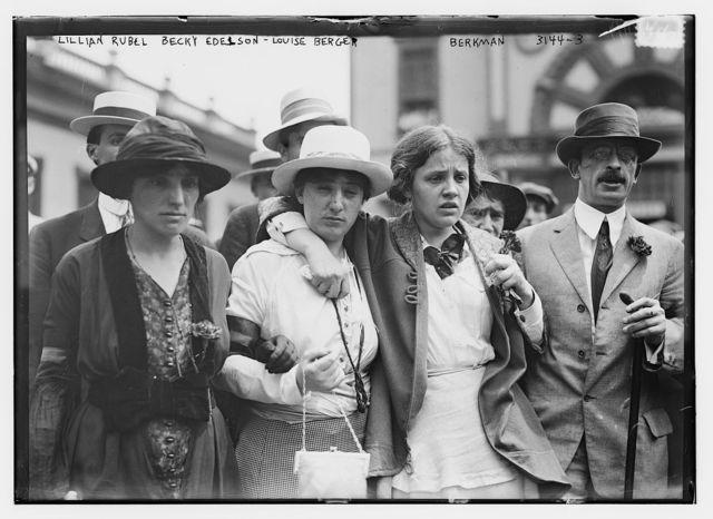 Lillian Rubel, Becky Edelson, Louise Berger, Berkman