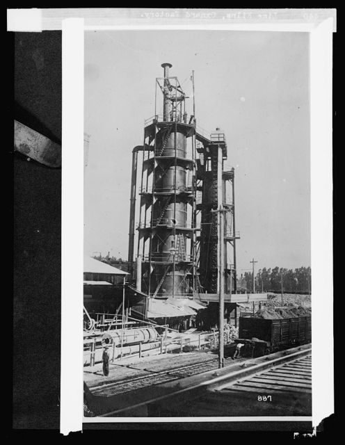 Lime kilns, Oxnard, [California], factory