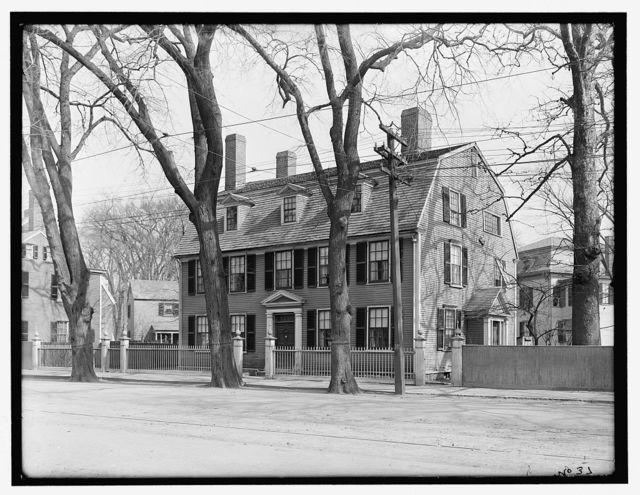 [Lindall-Barnard-Andrews House, 393 Essex Street, Salem, Mass.]