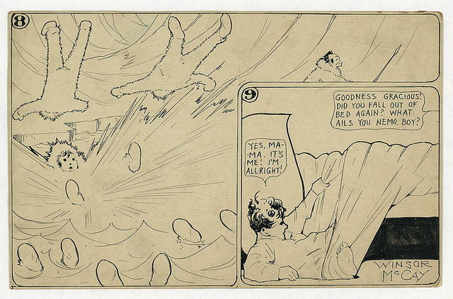 Little Nemo in Slumberland. I'm going home and leave you fellows, if you don't go soon! / Winsor McCay.