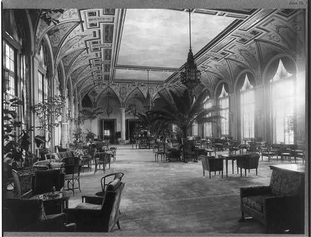 Lobby of The Breakers, Palm Beach, Florida