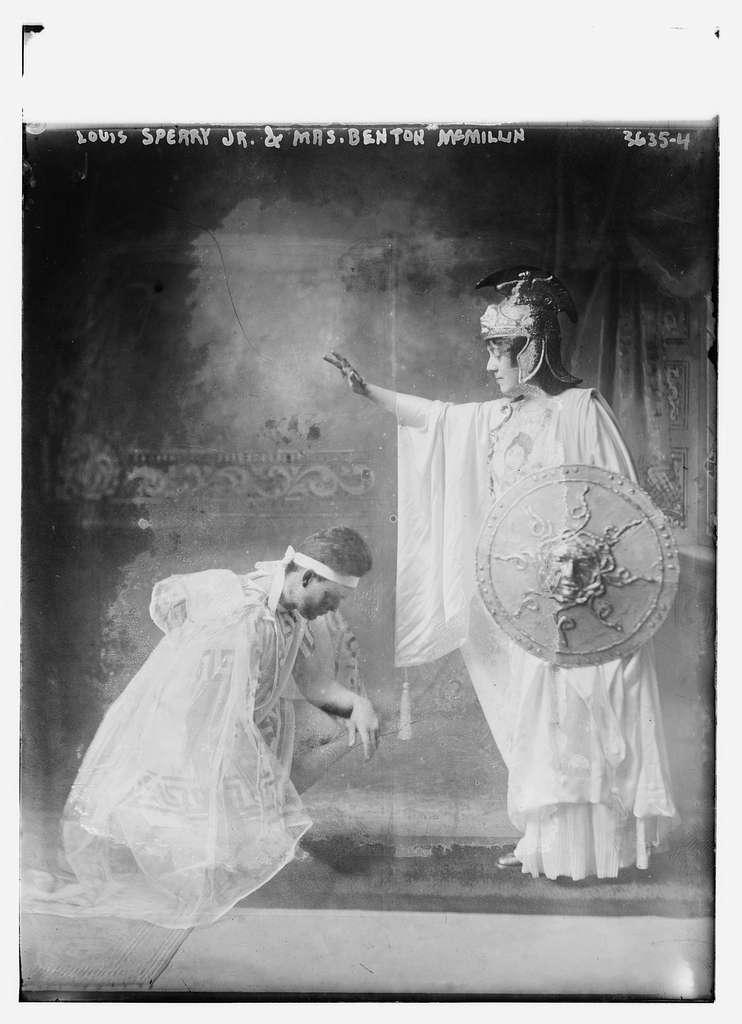 Louis Sperry Jr. & Mrs. Benton McMillin