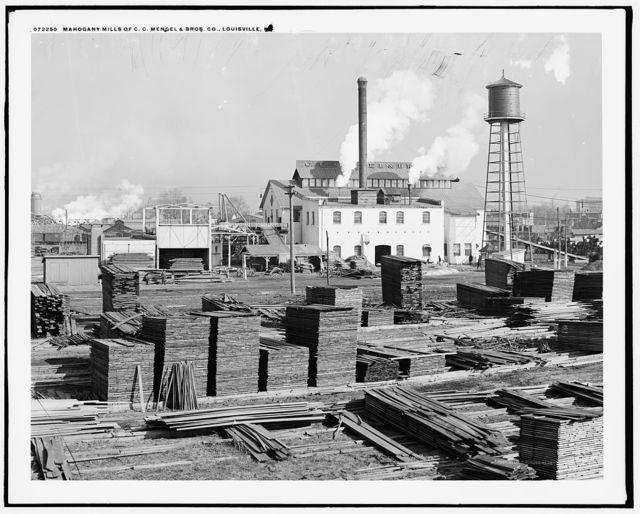 Mahogany mills, C.C. Mengel & Bros. Co., Louisville