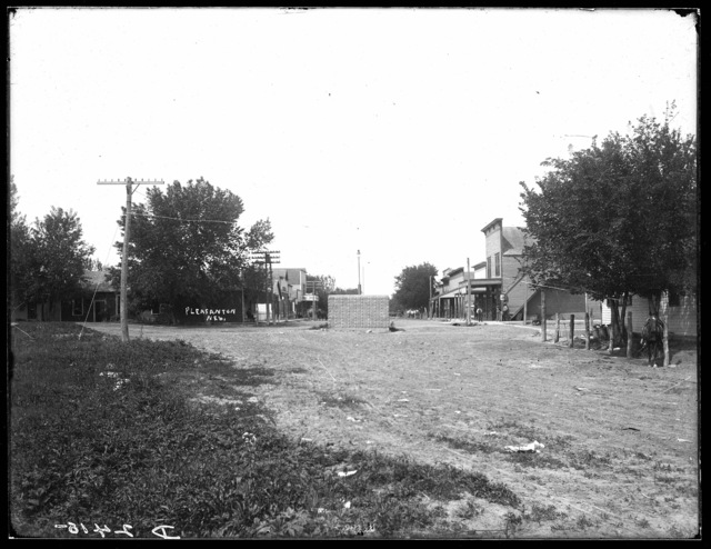 Main Street , Pleasanton, Nebraska.