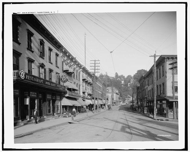 Main Street, Tarrytown, N.Y.
