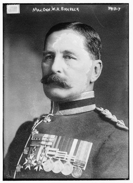 Maj. Gen. W.H. Birkbeck