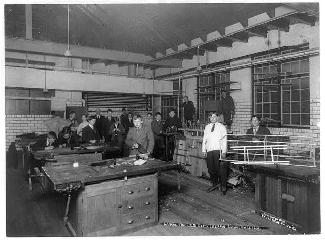 Manual Training Dept., Emerson School, Gary, Ind.