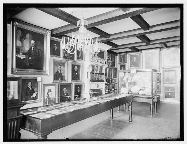 [Marine Room, East India Marine Hall, Peabody Museum of Salem, Salem, Mass.]