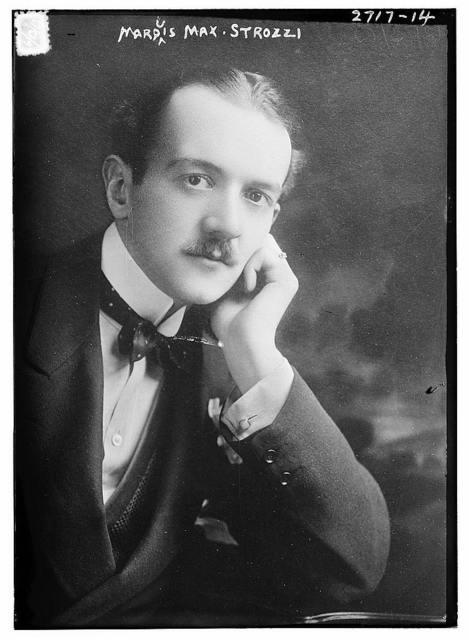 Marquis Max Strozzi