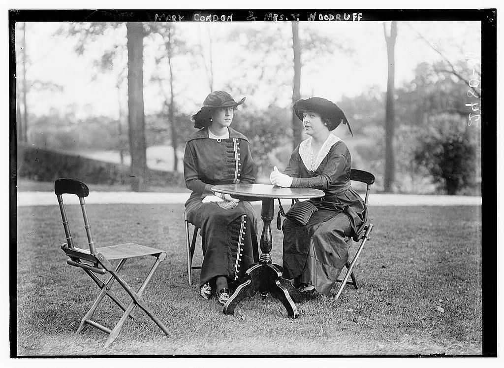 Mary Condon & Mrs. T. Woodruff
