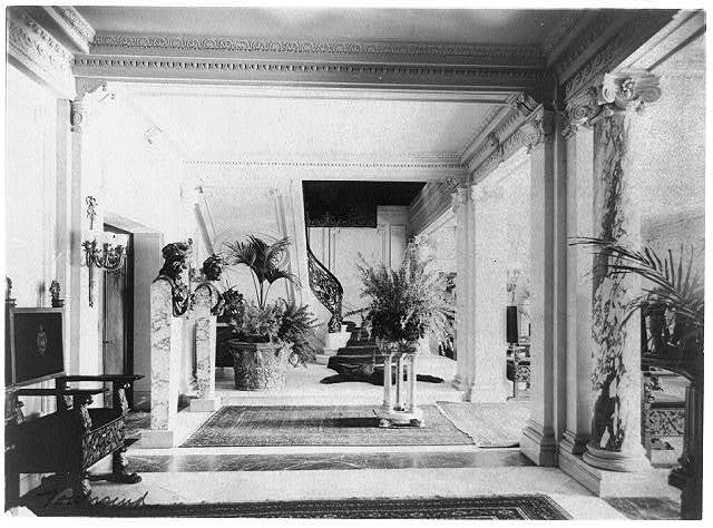 Mary Scott Townsend House, Wash., D.C.: Hallway of lobby