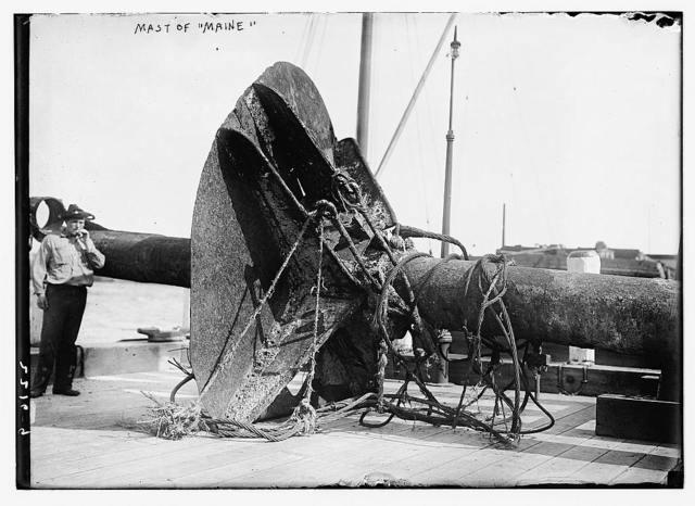 Mast of Maine