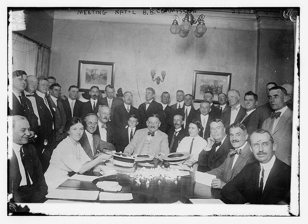 Meeting Natl B.B. Commission