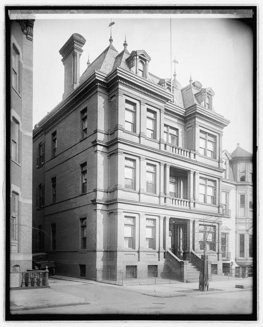 Mexican Embassy, Eye St. (moved), [Washington, D.C.]