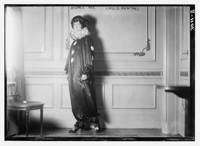 Mildred Rice (Mrs. R. Newton)