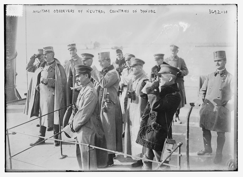 Military Observers of Neutral Countries on Danube