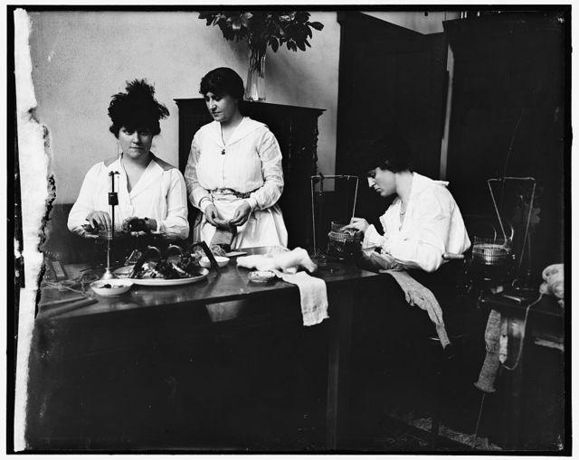 Miss Josephine Patton; Mrs. C.C. Marsh; Mrs. George D. Widener