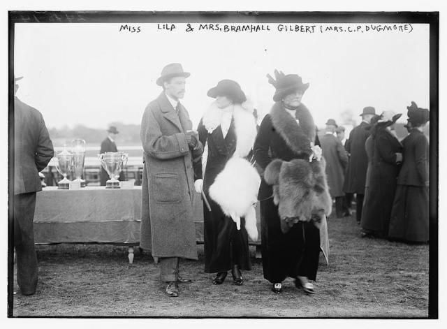 Miss Lila & Mrs. Bramhall Gilbert (Mrs. C.P. Dugmore)