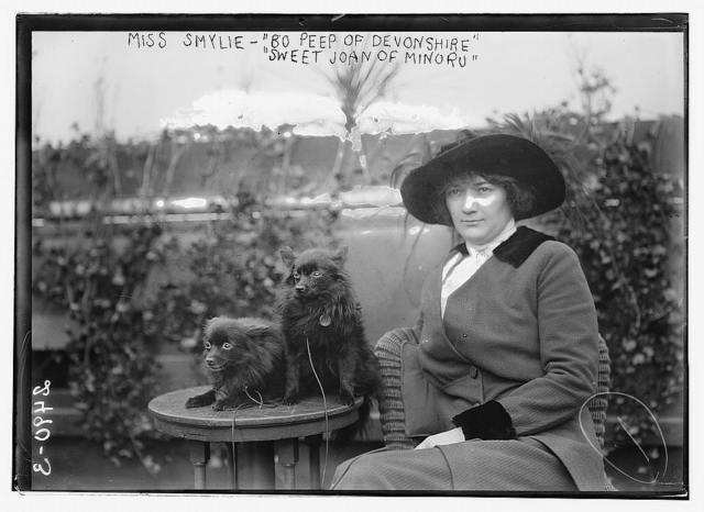 "Miss Smylie - ""Bo Peep of Devonshire"", ""Sweet Joan of Minoro""?"