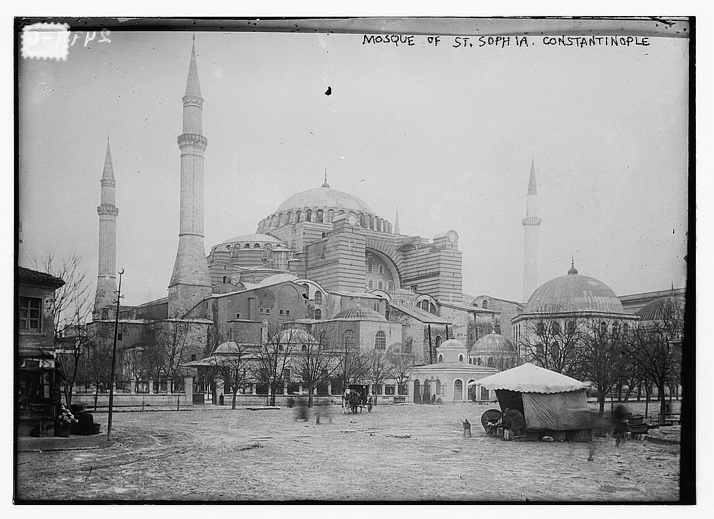 Mosque of St. Sophia, Constantinople